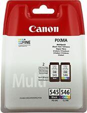 Tinta PG 545  CL 546 Canon Pixma iP2840 iP2850 MG2450 MG2455 MG2550 MG2950 MX495