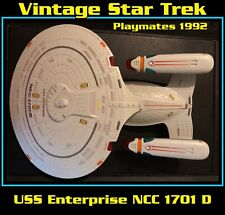 1992 Playmates Toy USS Enterprise NCC 1701 D Sounds Tested (Lights Not Working)