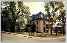 Postcard Fall River Historical Society Fall River Massachusetts