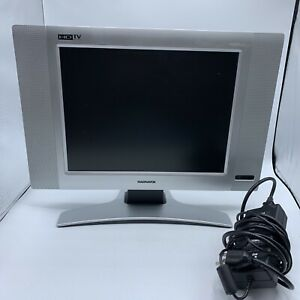 Philips Magnavox HDTV LCD TV/ Monitor 15MF605T/17 No Remote Tested Works