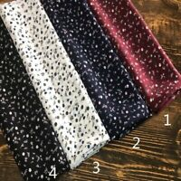2M Chiffon Fabric Print Floral Thin Soft Sewing Material Trim Apparel Craft Cosy