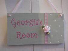 Unbranded Girls Decorative Door Signs/Plaques