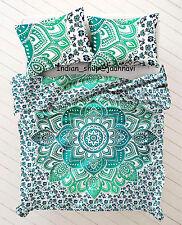 Bohemian Duvet Doona Mandala Hippie New Quilt Two pillow Cover Blanket Indian
