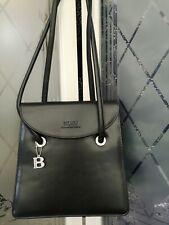 Bulaggi  Leather Black Tote Work Shoulder Hand Bag - VGC