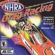 NHRA Drag Racing Jewel Case (PC, 2001), VG