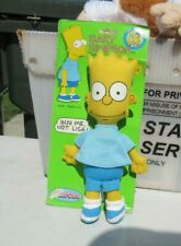 Simpsons Dandee Bart Simpson rag doll 1990