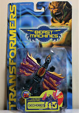 Transformers Beast Machines GECKOBOT Basic/Scout Class, MOSC/New (2000 Hasbro)