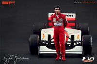 1:18 Ayrton Senna Mclaren figurine VERY RARE !!! painted, NO CAR! by SF