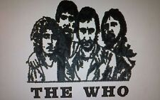 LOVELY EMBROIDERED IMAGES TOWEL SET THE WHO/QUEEN/PRINCE/ELVIS/MADONNA/BOWIE