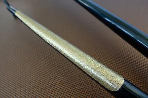 GOLD schwinn Vintage retro Vinyl Chainstay Protector finish frame glitter flake