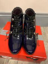 Jose Saenz Blue Ankle Boots Size 40