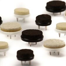 4er-Set Nagel Filzgleiter in schwarz oder weiss - Farbe und Größe frei wählbar