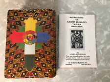 Vintage 1983 Aleister Crowley Thoth Tarot Cards w/ Instructions