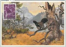 52145 - AUSTRIA -  MAXIMUM CARD - 1959  ANIMALS - HUNTING