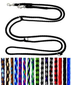 elropet® Hundeleine Doppelleine 2,4m 3x 2,8m 4x verst kleine Hunde Umhängeleine