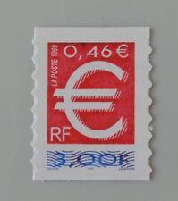 France année 1999 3215 adhésif 24 neuf luxe ** le timbre euro autocolant