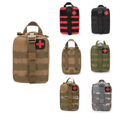 Tactical Molle Medical First Aid Pouch EMT Survival Bag Kit Emergency Rip-Away
