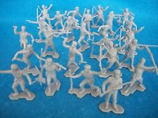 1/32 Boonesborough Frontier Pioneer toy soldiers Marx reissues 25 - Gray