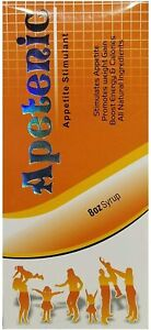 Apetenic Syrup - Appetite Stimulant - Promotes Weight Gain Naturally [8 Ounces]