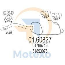MTS 01.60827 Exhaust FIAT 500 1.3 MJT TD 16V 75bhp 10/07 -