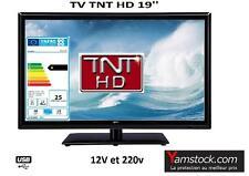 Télévision TV LED 18.5'  HD LED 12V /220V camping car