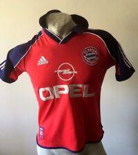 Maglia calcio adidas bayern monaco munchen trikot football shirt young D 164