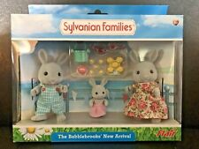 Sylvanian Families The Babblebrooks' New Arrival Gray Rabbits Calico Critters