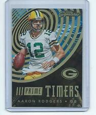 2016 Prime Signatures FB GALACTIC #PT-AR Aaron Rodgers Packers PRIME TIMERS SSP