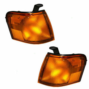1995 1996 1997 Fits For TY Tercel Park Signal Light Pair Right & Left Side