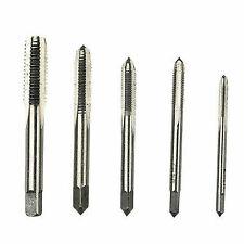 5pcs M3 M4 M5 M6 M8 HSS Hand Screw Thread Tapper Metric Plug Tap Set Repair Tool