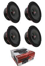 "4 x 6.5"" 1800W Midrange Loudspeaker Full Range 8 Ohm DS18 PRO-X6M"