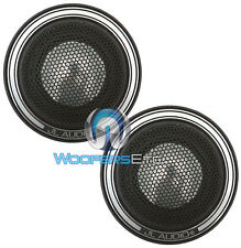 "OPEN BOX JL AUDIO ZR100 CT ZR CAR AUDIO 1"" ALLUMINUM TWEETERS & MOUNTING PAIR"