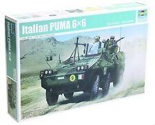 Trumpeter - Italian Puma 6x6 Armored Fighting Vehicle 1/35 Scale Model Kit