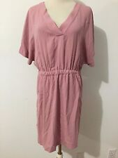 ZARA Basic Dress Antique Rose/Mauve Size M