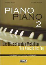 Piano Piano Bd. 2 leichte Ausgabe - Verlag Hage PORTOFREI VOM MUSIKFACHHÄNDLER