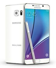 Samsung Galaxy Note 5 SM-N920A 32GB White Pearl 4G LTE AT&T GSM UNLOCKED