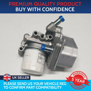 ENGINE OIL COOLER AND HOUSING TO FIT PEUGEOT BOXER FORD TRANSIT FIAT DUCATO