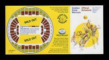 >Original/GEM 1976 Golden State Warriors BASKETBALL POCKET SCHEUDLE