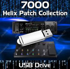 7000+ PATCHES USB - LINE 6 HELIX NATIVE FLOOR & RACK SETTINGS CUSTOM TONES