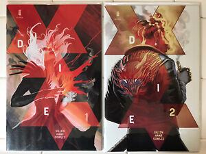 Die #1-2 NM+ 1st Prints! Image Comics 2018 Kieron Gillen