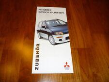 Mitsubishi Space Runner accesorios folleto 09/1999