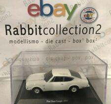 "DIE CAST "" FIAT DINO COUPE' - 1969 "" + TECA RIGIDA BOX 2 SCALA 1/43"