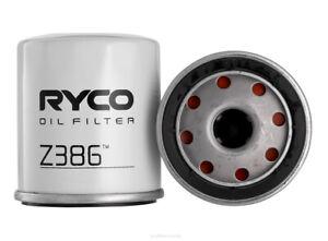 Ryco Oil Filter Z386 fits Daihatsu Applause 1.6 16V (A101)