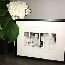 Personalised A4 Name Print Gift For Mum Dad Nan Grandma Nonno Mothers Day Gift