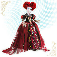 Disney Store Alice Through the Looking Glass Red Queen Of Hearts Doll DamagedBox