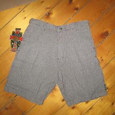 vintage mens 33 New '90s Mcd More Core Division plaid SkaTer Shorts Nwt Usa made