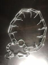 "26"" Metal Dog Pinch Prong Choke Chain Collar Training Guardian Gear Adjustable"