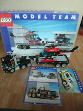 Lego 5590 Model Team Komplett LKW Hubschrauber Tieflader Bauanleitung Verpackung