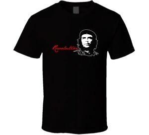Che Guevara Cotton new shirt black white tshirt men's free shipping