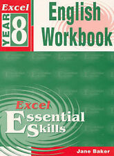 Excel English Workbook Essential Skills Year 8 Paperback Free Shipping